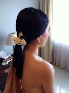 Thai Wedding Hairstyle