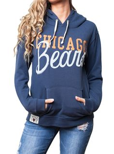 Chicago Bears Womens Hoodie Sweatshirt | SportyThreads.com
