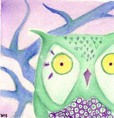 Green Owl  by Dale BoothCambridge, MD