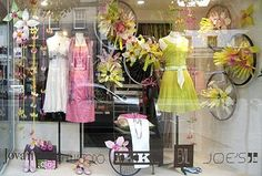 Melagrano Window Display out od Recycled Plastic Bottles by International Visual 2