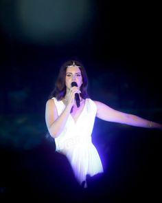 Lana Del Rey at Byblos International Festival in Lebanon #LDR #Paradise_Tour 2013