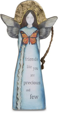 "Friend, 5.5"" Angel Ornament - Sherry Cook Studio - Pavilion"