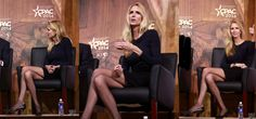Ann Coulter's legs were made for pantyhose! She looks fantastic.
