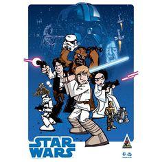 Awesome Star Wars Artwork! (via starwarsdaily/Instagram)
