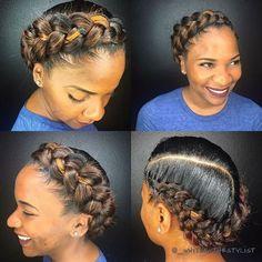 53 Box Braids Hairstyles That Rock - Hairstyles Trends Box Braids Hairstyles, African Hairstyles, Girl Hairstyles, Wedding Hairstyles, Black Hair Updo Hairstyles, Hairstyles Videos, Protective Hairstyles, Natural Hair Braids, Braids For Black Hair