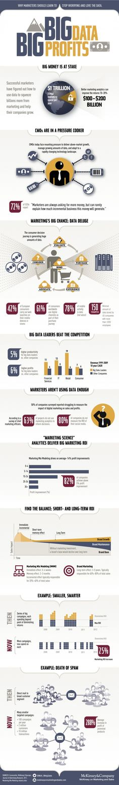 "#Infografía Big Data, Big Profits. Why the ""Big Data"" is important for Marketers"