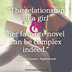 A girl and her book