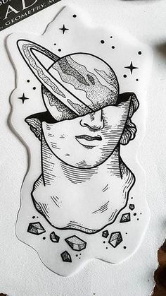 About the Millennium Culture - Art - .- Über die Millenniumskultur – Kunst – About the Millennium Culture – Art – - sketches Pencil Art Drawings, Cool Art Drawings, Art Drawings Sketches, Tattoo Drawings, Drawing Ideas, Drawing Art, Space Drawings, Woman Drawing, Simple Drawings