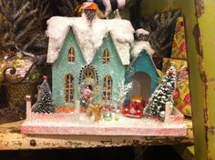 A beautiful addition to a Christmas village! #SampleHouse