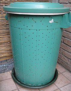 Come costruire la compostiera da balcone fai-da-te | compostiere 1 ...