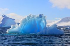 Iceberg in Antarctica. Iceberg seen from a zodiac in Antarctica on a beautiful d , Creation Of Earth, Ice Pictures, Arctic Landscape, Winter Scenery, Scenic Photography, English, Illustrations, Natural, The Incredibles