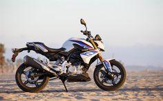 壁紙をダウンロードする 4k, BMW G R310, sportbikes, 2018年までバイク, ドイツのバイク, BMW