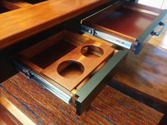 Rob builds a Table that does double duty...gaming and dining!