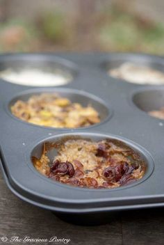 Clean Eating Muffin Tin Oatmeal (Click Pic for Recipe) There is no fitness goal that can't be reached by first cleaning up your diet   http://mmorris.webs.com questions or comments https://www.facebook.com/MMorrisFitness