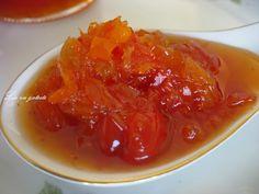 Mirodenii si mancare: Dulceata de ardei iute cu ghimbir Dessert Drinks, Desserts, Jelly, Fish, Dinner, Gem, Cakes, Sweet, Canning
