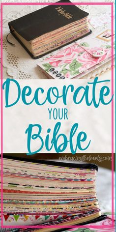 Christian Living:Decorate your Bible with These Creative Washi Tape Bible Divider Tabs and Make it Easy To Navigate Your Bible with Embracing the Lovely Bible Journaling For Beginners, Bible Study Tips, Bible Study Journal, Scripture Study, Scripture Journal, Bible Lessons, My Bible, Bible Art, Bible Quotes