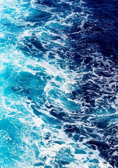 Deep blue sea water with spray. Areal shot of rough sea with lot of spray , Blue Aesthetic Dark, Water Aesthetic, Rainbow Aesthetic, Aesthetic Colors, Aesthetic Pictures, Wallpaper Azul, Ocean Wallpaper, Aesthetic Backgrounds, Aesthetic Wallpapers