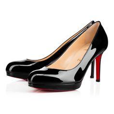 9656dc352e0 NEW VERY PRIVE PATENT 120 Black Patent Calfskin - Women Shoes - Christian  Louboutin