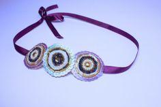 Vintage style embellished headband. Art deco by SheSellsHeart, £28.00