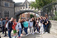 ➳ #TECLife, primera semana en #Dublín Actividades deportivas, diseño de camisetas, pompones y visitas a los rincones con más encanto de #Irlanda  #Irlanda #LearnEnglish