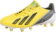 adidas Mens Adizero F50 XTRX SG LEA Football Boots Yellow/Black/Green £44.99! #FASHION #DEALS #MENSFASHION