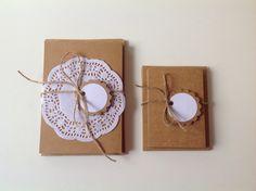 Blank Kraft cardstock cards with envelopes, 2 sizes, set of 10 cards and 10 envelopes,gift pack, Kraft paper by PinkyPromiseBargains on Etsy