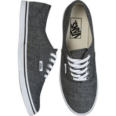 VANS Authentic lo pro shoe ($55) ❤ liked on Polyvore