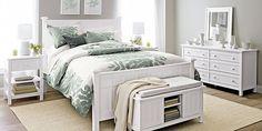 white bedroom furniture  grey walls #whitebedroomfurniture #bedroomdesigns