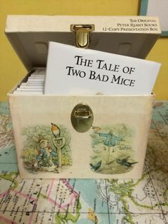 Passing on my love of Beatrix Potter - Twins Make Five Peter Rabbit Books, Peter Rabbit And Friends, Tales Of Beatrix Potter, Rabbit Garden, 12th Book, To My Daughter, Trail, Decorative Boxes, Presentation