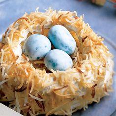 Meringue Nest - mmm . . . this has potential!