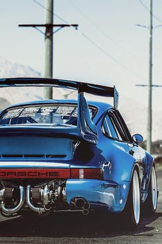 Porsche 911 bi-turbo - twin snails