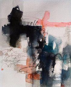 Antonio San Martin Castanos Carta n.º 9 (Letter #9) (Serie: Cartas a Teresa) (Series: Letters to Teresa) Acuarela (Watercolor) 26 x 21 cm 2015