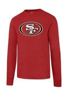 47 Brand Men's San Francisco 49Ers 47 Ls Club Tee - Red - 2Xl