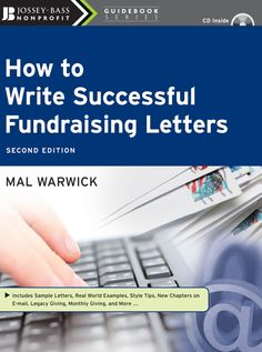 This is how I learned to write fundraising letters - reading this at a local cafe years ago!