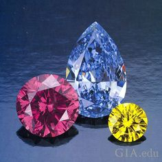 If you're thinking of buying a colored #diamond, you'll want to know if its color is natural or the result of a treatment process.