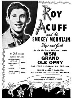 roy acuff 1943 by Al Q, via Flickr