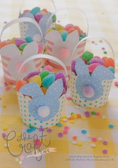 Molly Mell: Mini Easter Baskets