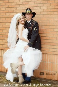 Twitter WhitAbernathy Wedding Day Boot Campaign