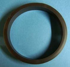 "6"" Trash bin ring brown plastic 8/pkg by bmi. $22.80. plastic. Fits 6"" hole"
