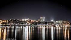 Savannah GA skyline at night...
