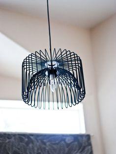 DIY Wire Chandelier