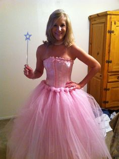My Glenda the Good Witch Costume- easiest costume to put together