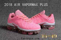 pretty nice abb70 3bd14 Nike Air Vapormax TN Plus 2018 Pink White Women Sneakers