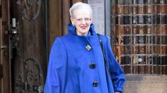 Dronning Margrethe, Her Majesty Queen Margrethe of Denmark on her way to church, Easter 2015
