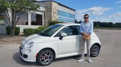 JEFFERY's new 2013 FIAT  500 ! Congratulations and best wishes from Benny Boyd Motor Company - Marble Falls and DEE NIXON.
