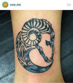 #AriesTattoo #Aries