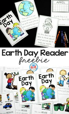 This Earth Day Emergent Reader will be the perfect addition to your Earth Day lesson plans this spring. This free printable comes in color and black and white and is perfect for pre-k, kindergarten, and first grade.