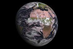 Африка, купающаяся в пыльных розовых пятнах, предстала на снимке, сделанном 4 августа новейшим метеорологическим спутником Европы. Метеосат второго поколения-4 (MSG-4) был запущен на орбиту 15 июля из Французской Гвианы на борту ракеты Ariane 5. Данный необычный снимок Земли в розовом цвете — первые результаты работы космического аппарата, передает livescience.com.