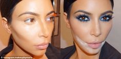 Mario Dedivanovic, Kim Kardashian's make-up artist, uses sandbagging to prevent Kim's lipstick from smudging or creasing. The powder absorbs any excess cream or oil and is brushed away afterwards