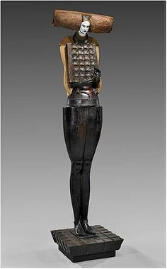 Cecilia Z. Miguez (Uruguayan, b.1955) utilising found objects her cast bronze and wood creations combine what is real and what is fantasy. Her work confronts and invites dialogue.